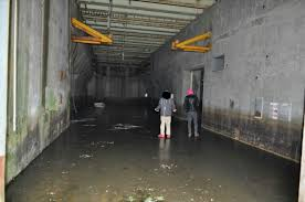 my buddies on ice inside a flooded atlas e missile base in rural