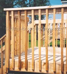 Decking Banister Deck Fencing Ideas Hand Railings Porches Pinterest Decking