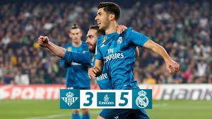 Real Madrid Real Betis Vs Real Madrid 3 5 Highlights Goals