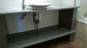 cuisine beton cellulaire meuble de cuisine en beton cellulaire deco interieur