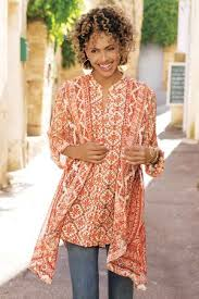 paysan tunic womens tunic top soft surroundings
