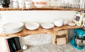 Floating Wood Shelf Diy by Diy Live Edge Wood Projects For Your Home