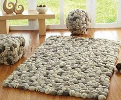 pebble rug brighton contemporary felted wool rug fresh design
