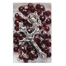 birthstone rosary birthstone rosary rosary prayer ropes pilgrim