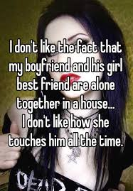 Together Alone Meme - i don t like the fact that my boyfriend and his girl best friend