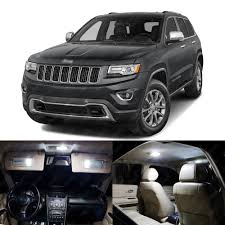 grey jeep grand cherokee interior 17 x xenon white led interior lights package for jeep grand