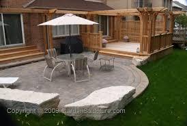 Patio Designs Stone by Elegant Stone Decks And Patios Designs Stone Decks And Patios
