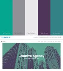 2017 color pallets 49 color schemes for 2017 envato medium