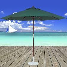 Wood Patio Umbrellas Wood Market Umbrellas Tropishade Worldwide Manufacturer Of