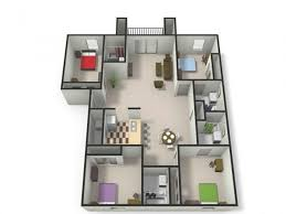 cmu floor plans 2 4 bed apartments the village at bluegrass