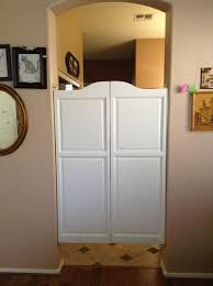 Interior Cafe Doors Painted White Swinging Café Doors For Kitchen Entry Available In