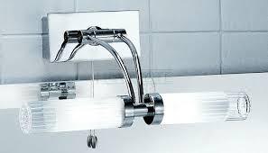 wall mirror lights bathroom franklite ribbed shade adjustable bathroom over mirror light wb536