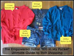 shopping guide the 20 in my pocket ultimate guide to thrift store shopping the