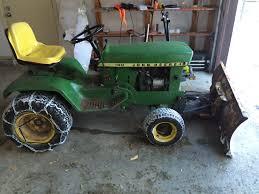 john deere 140 h1 garden tractor with 54