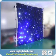china led curtain led lights cloth soft led cloth