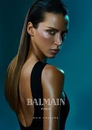 balmain hair balmain hair couture campaign