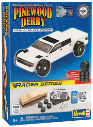 Ford Raptor Model Truck - revell ford f 150 raptor pinewood derby truck kit