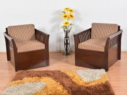 Single Seater Couch For Sale Alphonse Teak Single Seater Sofa Set Of 2 Buy And Sell Used