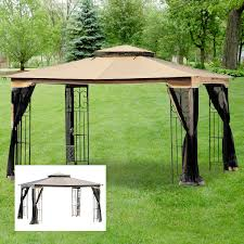 Outdoor Net Canopy by Replacement Canopy And Net For Regency Ii Gaz Riplock Garden Winds