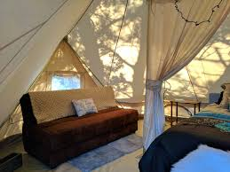 tent deck sibley bell tent 2 the evanscliff beautiful canyon high rise