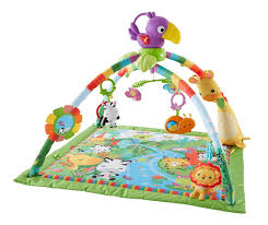 fisher price lights and sounds monitor amazon com fisher price music and lights deluxe gym rainforest