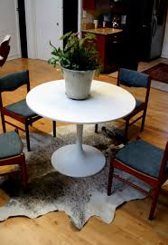 cowhide rug dining room alliancemv com
