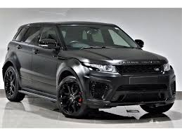 land rover evoque black used land rover range rover evoque hatchback 2 2 sd4 pure tech