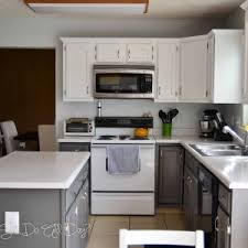 How To Paint Kitchen Cabinets White Without Sanding Home Decor Interesting How To Paint Kitchen Cabinets Images