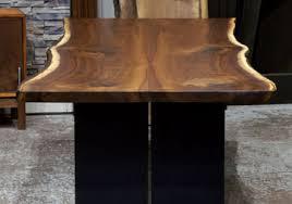 Walnut Slab Table Live Edge Slab Dining Tables Walnut Slabs And Tops