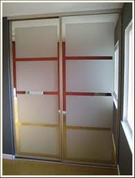 new white glass sliding closet doors in the bedroom sliding