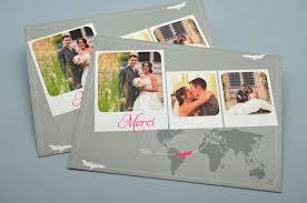 remerciement mariage original carte remerciements mariage création sur mesure l atelier d elsa
