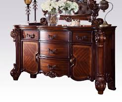 Acme Dining Room Furniture Vendome Traditional Dresser Server With Four Drawers And Two Doors