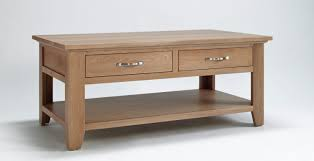 Coffee Tables With Shelves Coffee Table Coffee Table Drawer Oak With Drawers And Shelf