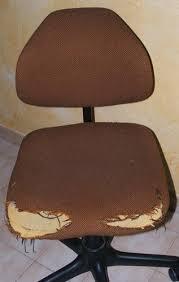 housse chaise bureau recyclage de vieilles chaises de bureau les idées créatives de nat