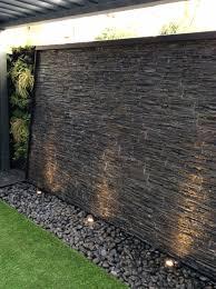 stone wall water fountain interesting design ideas 9 15 unique