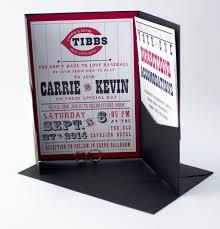 baseball wedding invitations cincinnati baseball fans here s a wedding invitation just for
