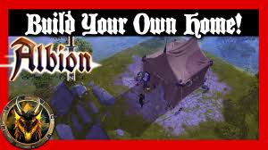 build your own home online build your own home albion online closed beta youtube