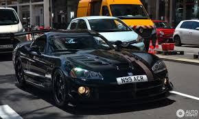 Dodge Viper 1990 - dodge viper srt 10 acr voodoo edition 23 december 2016 autogespot