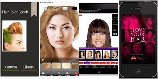 hair style photo booth 5 hair apps you must try before visiting your stylist babble