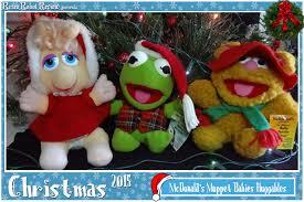 muppets thanksgiving mcdonald u0027s muppet babies huggables