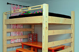 Plans For Making A Loft Bed by How To Build A Loft Bed Diy Expert Tips