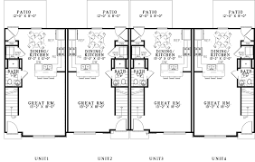 4 unit multi family house plans nice home zone