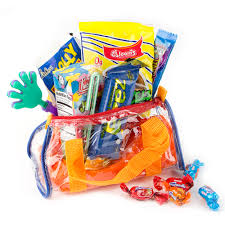 oh nuts purim baskets kids colorful clear purim gift bag 3 pack purim baskets