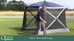 Gazebo Screen House by Screen House 4 Full Instruction Youtube