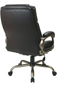 ech12801 ec1 office star big and tall brown eco leather