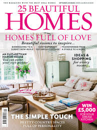 25 beautiful homes sept u002715 issue on sale now room envy