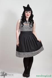 gothic stripes u0026 bat dress beetlejuice inspired custom size