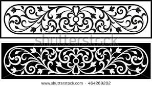 free antique ornaments scroll vectors free vector
