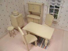 Dollhouse Furniture Kitchen Vintage 50s Strombecker Dollhouse Furniture 11 Piece Kitchen Set