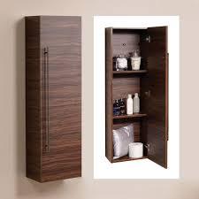 Bathroom Cabinet Wall Aspen 120cm Walnut Wall Mounted Storage Unit Create A Designer